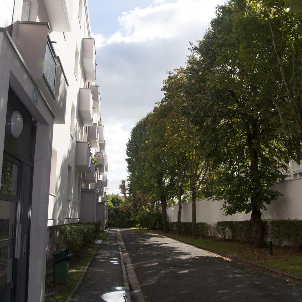 st cloud-residentialisation-voie pompier existante